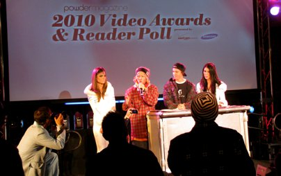 Powder Video Awards & Reader Poll