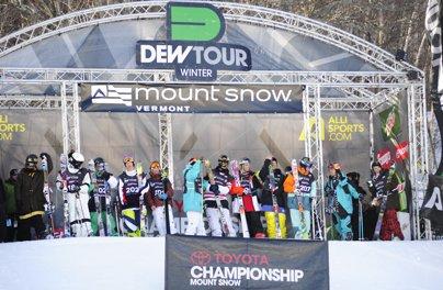 Dew Tour Announces Pre-Qualified Athletes