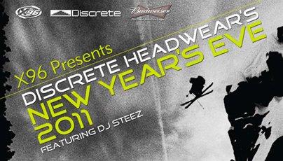 Discrete Headwear New Year's Eve Party