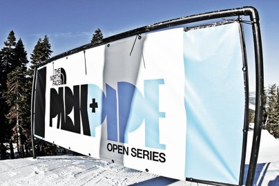 The North Face Park & Pipe Open Day 1