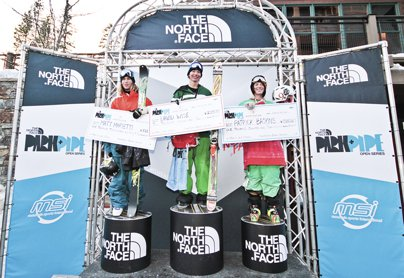 The North Face Park & Pipe Open Day 3