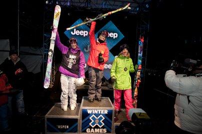 Winter X Games Women's Ski Superpipe Finals