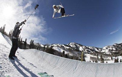 Monster Invades Snowbasin