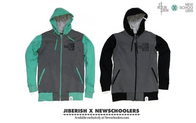 Jiberish x Newschoolers Collab Shipping Discount