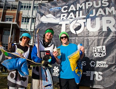 Campus Rail Jam Tour Reno
