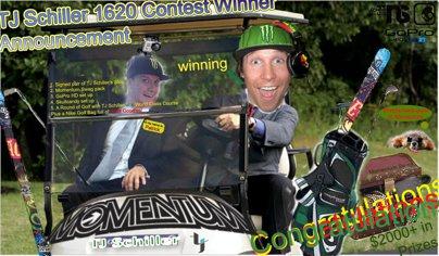 Momentum's TJ Schiller 1620 Contest Winner