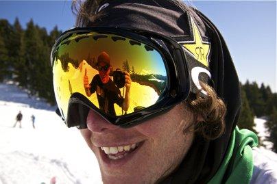 Sammy Carlson at Snowboarder Superpark