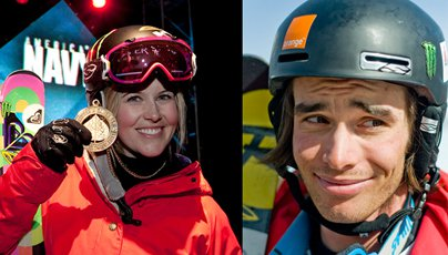 Vote For Sarah Burke & Kevin Rolland
