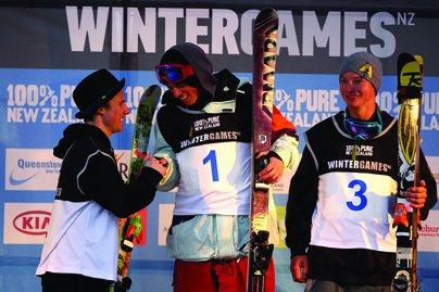 New Zealand Winter Games Ski Halfpipe Finals