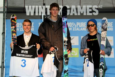 New Zealand Winter Games Ski Big Air