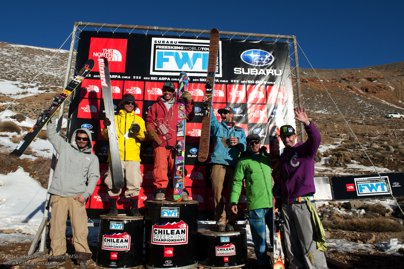 The North Face Chilean Freeskiing Championships