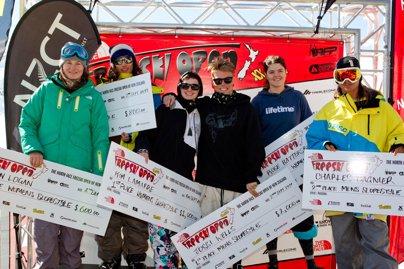 New Zealand Freeski Open Slopestyle Finals