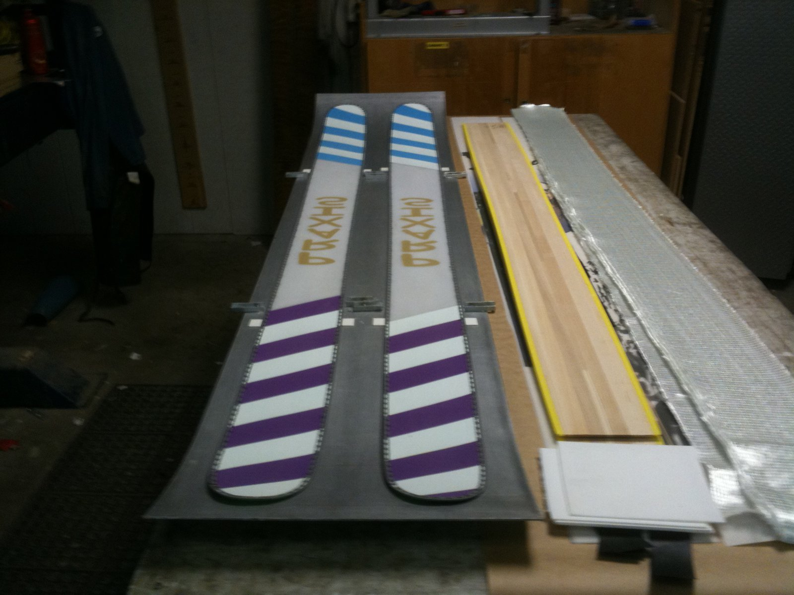 hand made skis for sale