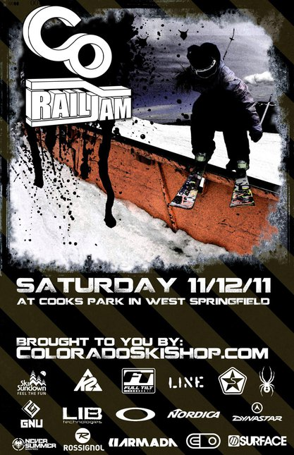 Colorado Ski Shop CO Rail Jam