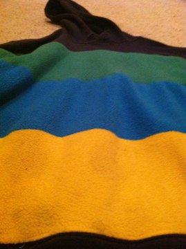 sewed hoodie