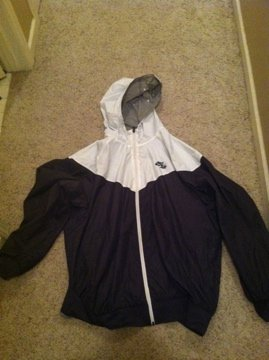 Windbreaker other side