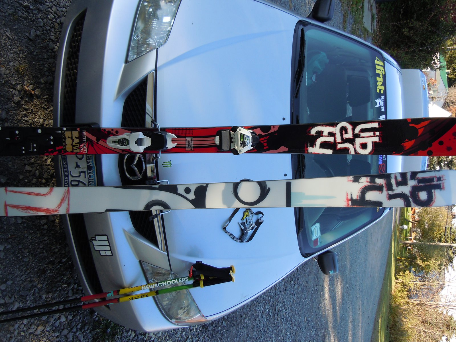 New skis, Liberty Ants/ JESTER BINDINGS
