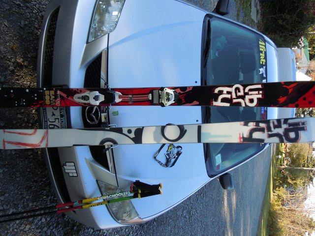 New skis, Liberty Ants/ JESTER BINDINGS