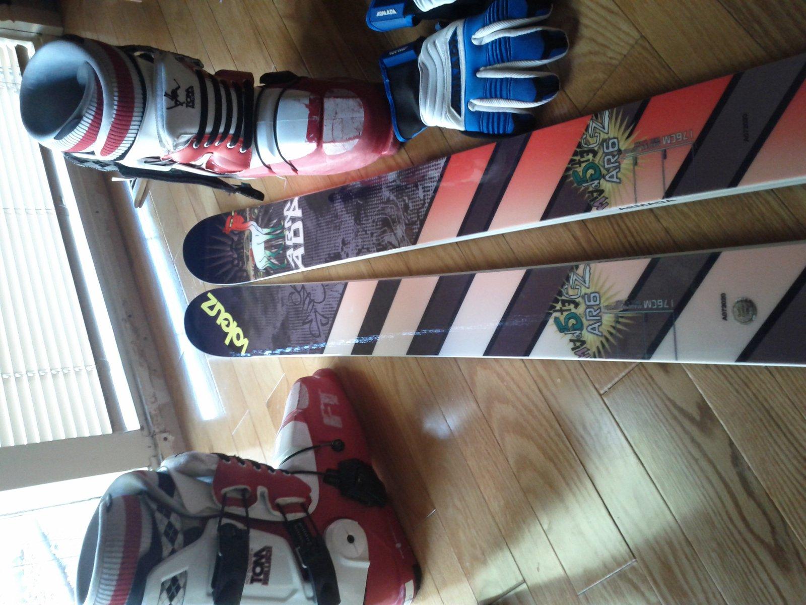 new ski stuff for 2012 season so far