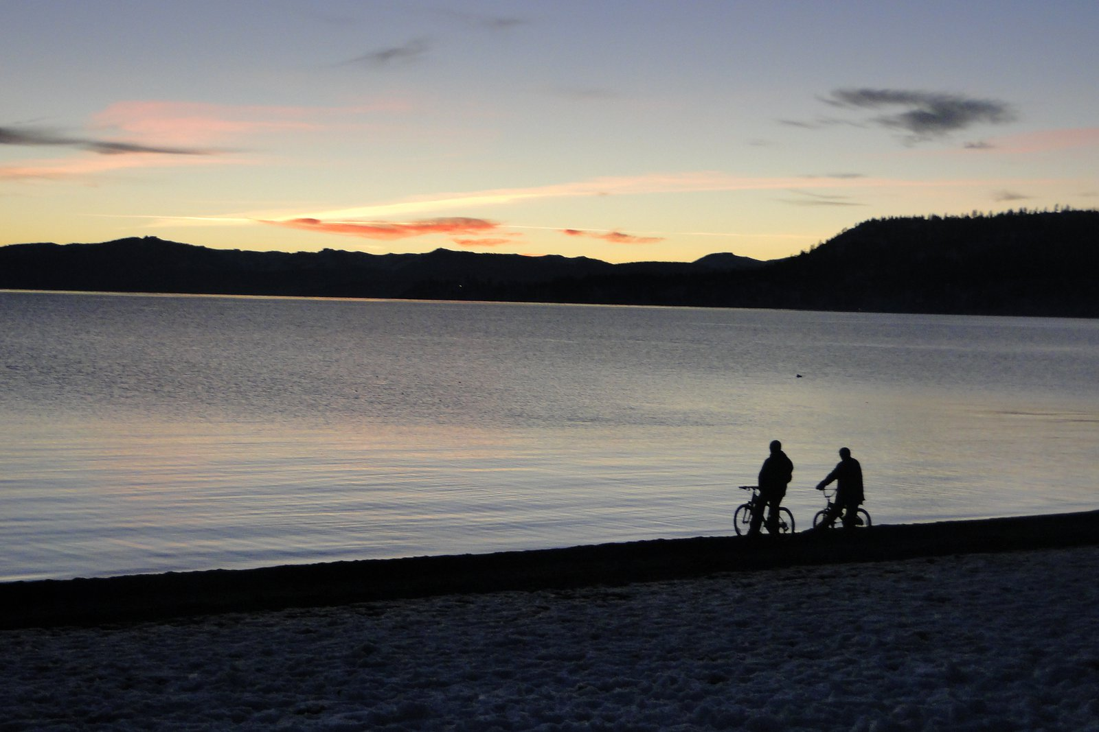 Night in Tahoe
