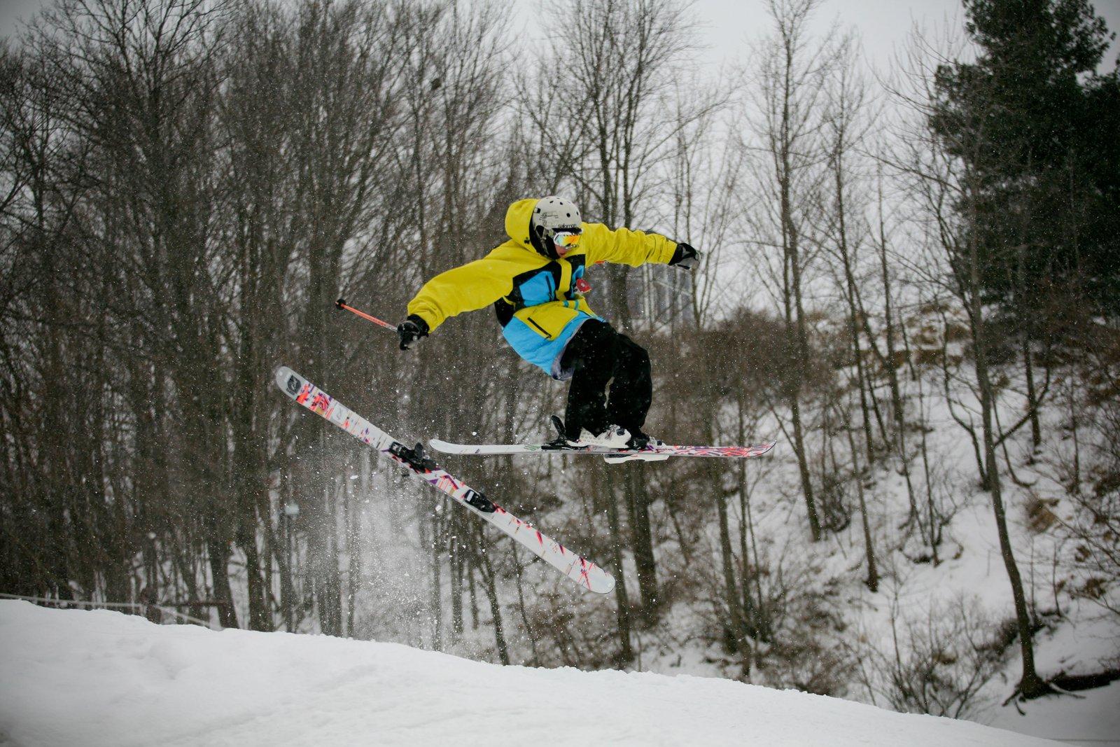Losing a ski