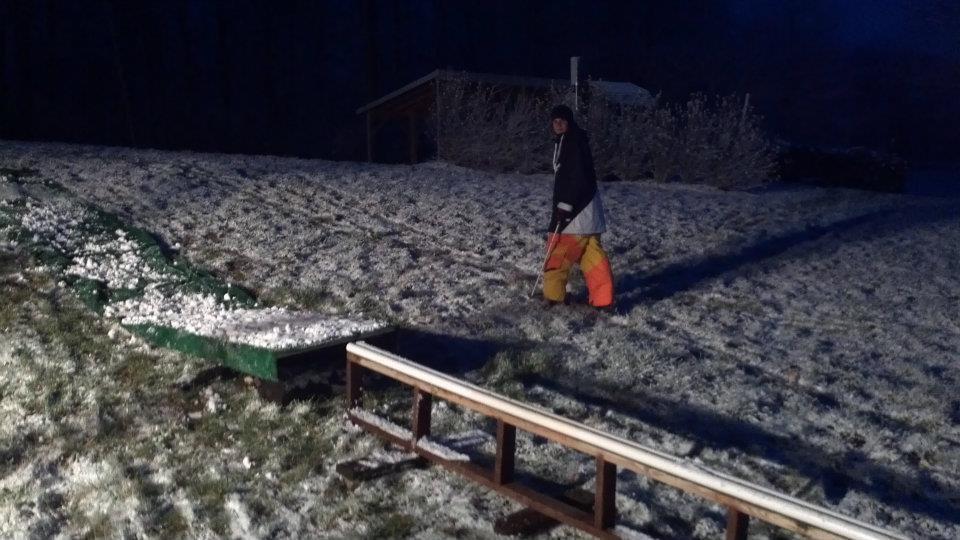 first snow first sesh