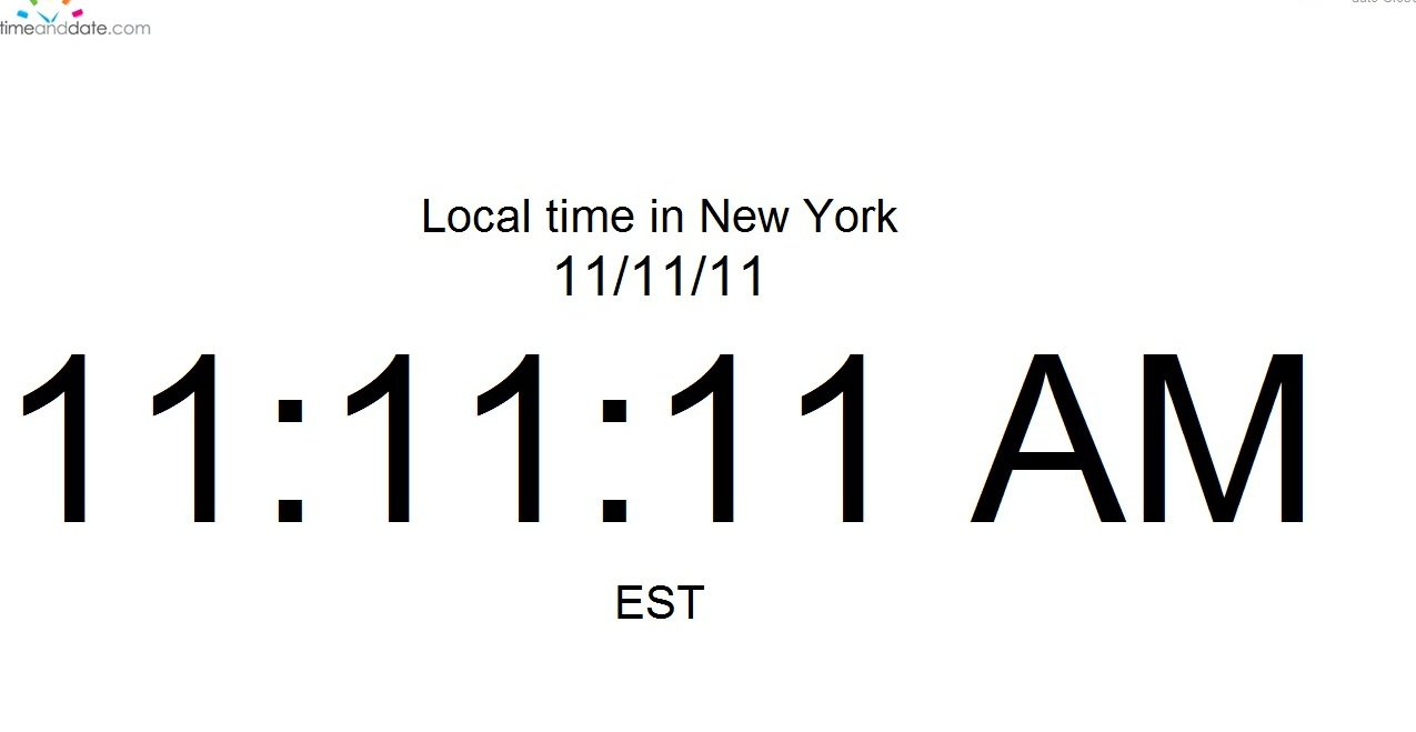 11/11/11 11:11