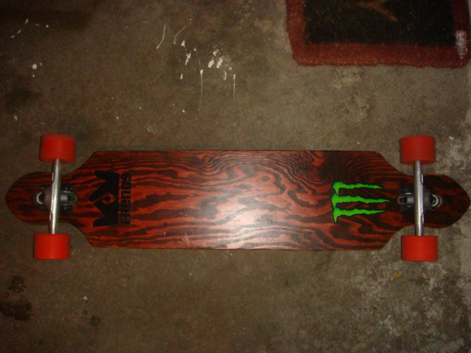homemade longboard!
