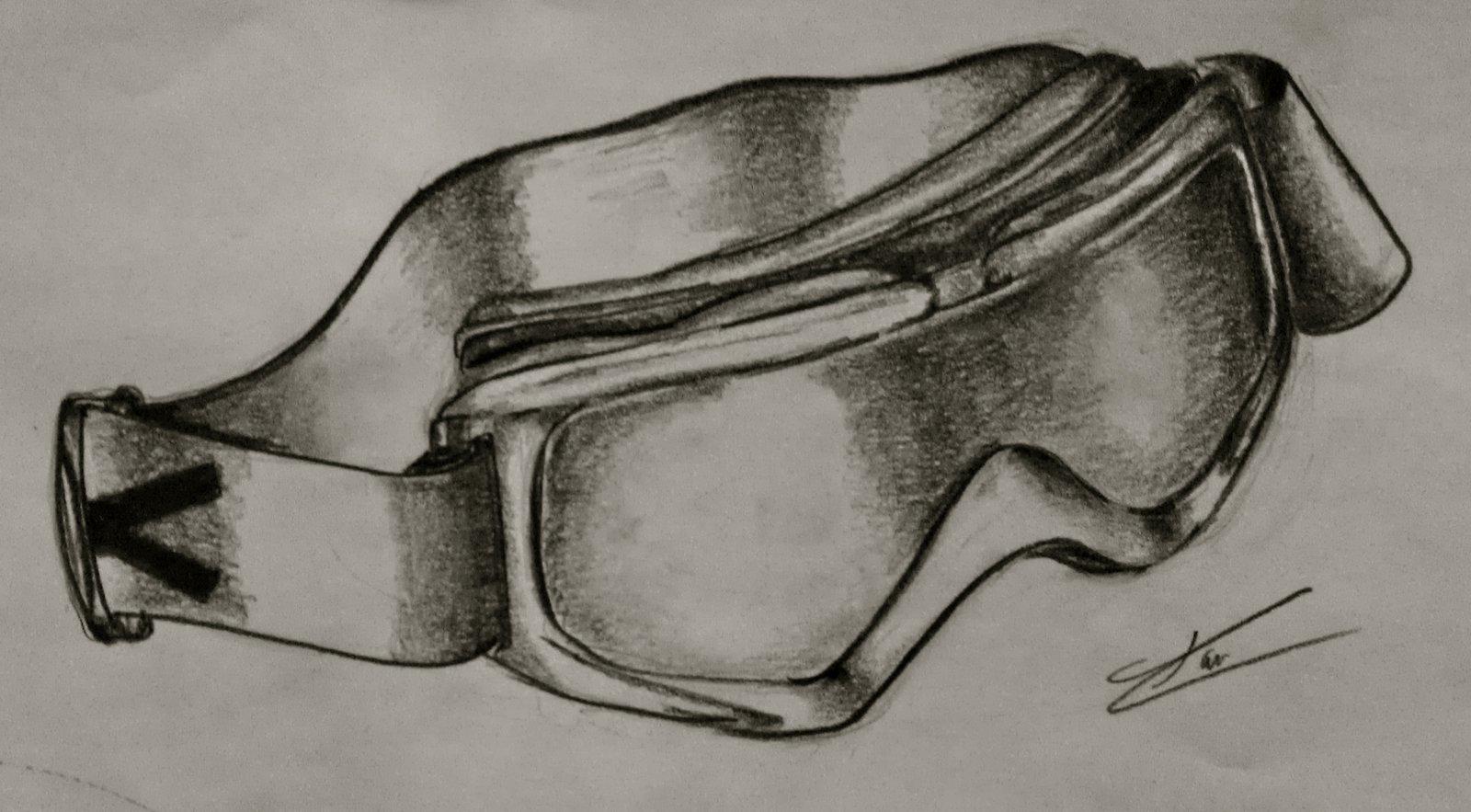 Goggle Sketch