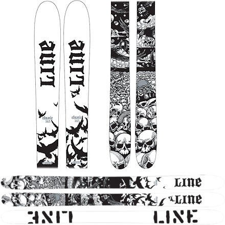 Sickest Pair of Line Skis Ever