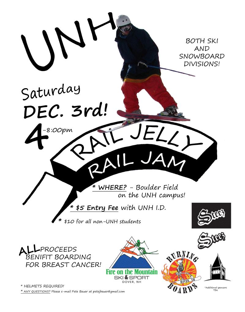 UNH Rail Jam