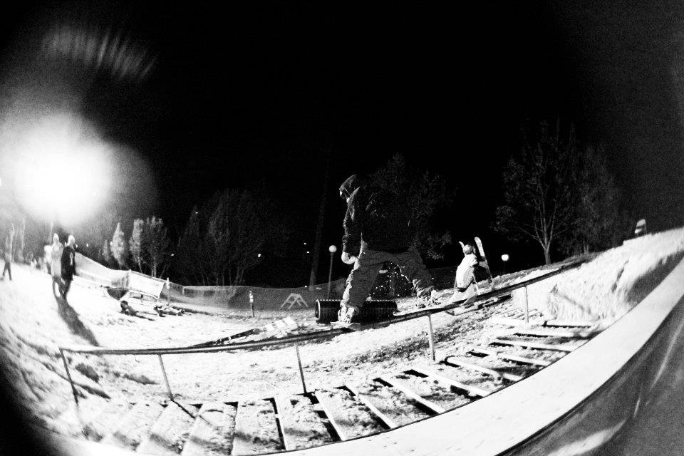 i ride for tanner olson rail jam