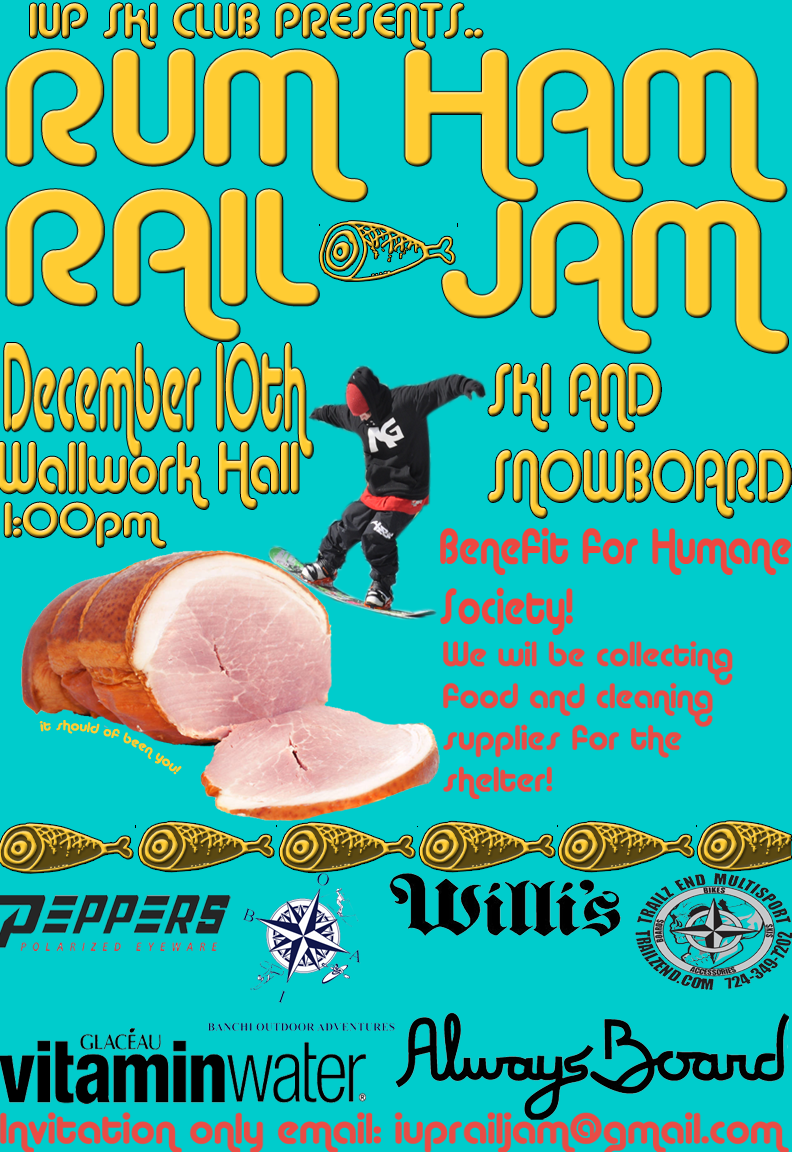 Rum Ham Rail Jam @ IUP Dec 10th