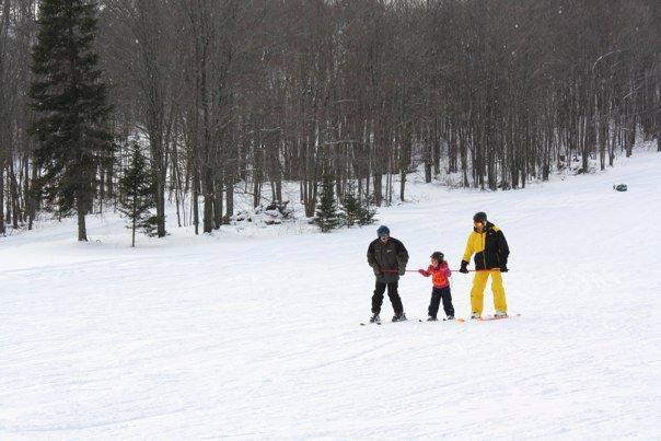 Blind Skiing