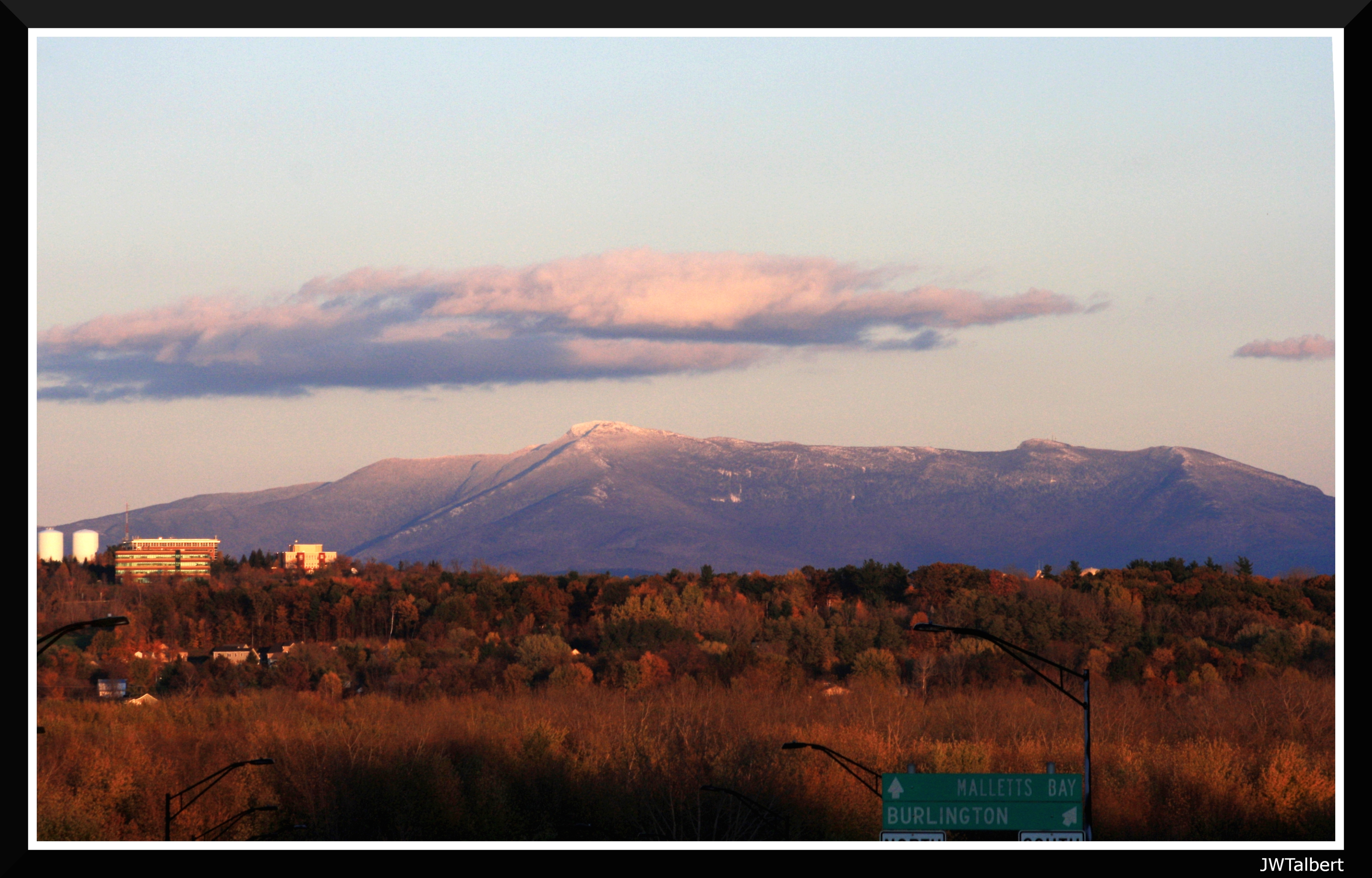 Early Mt Mansfield Snows