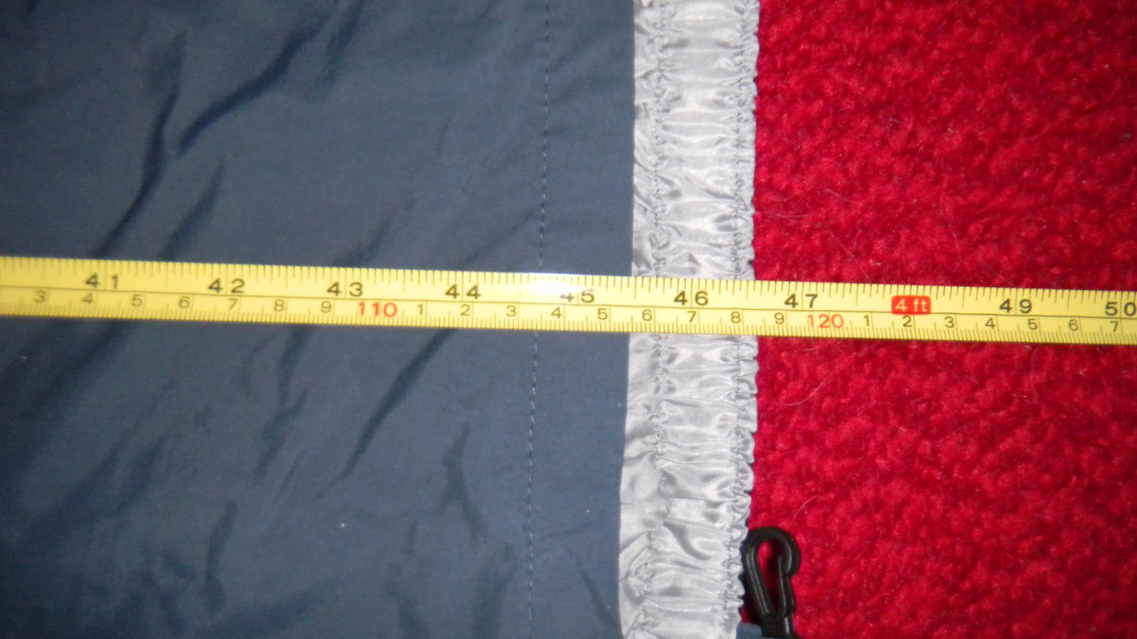 about 45 inches (pants)