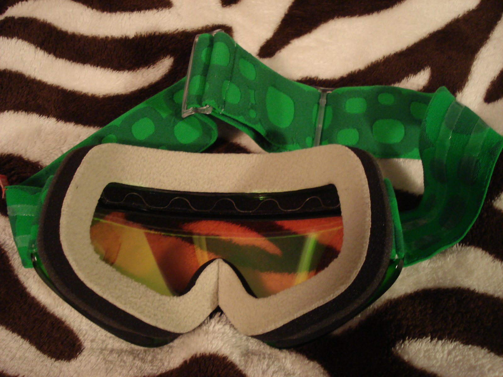 Goggle back