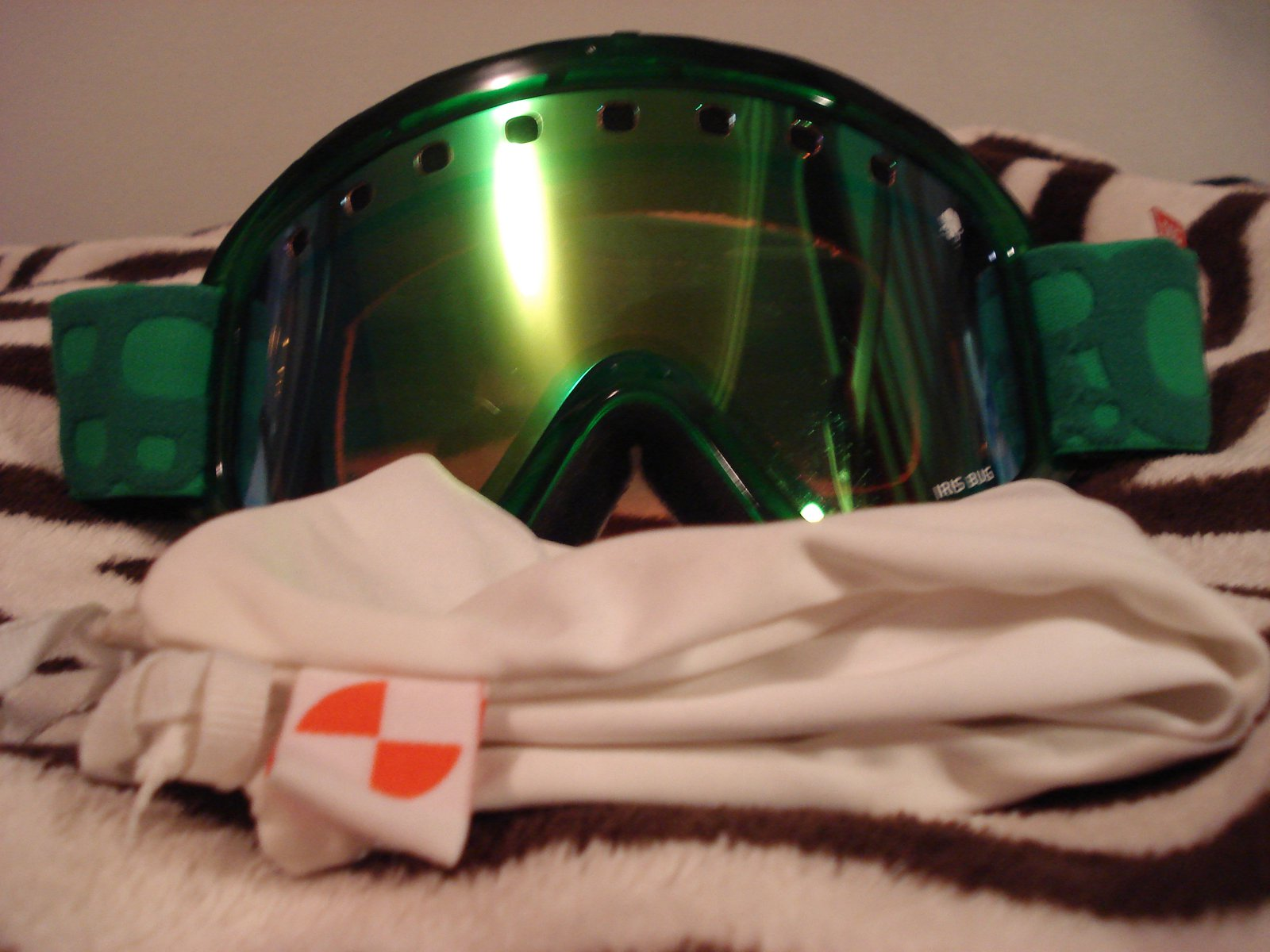 Goggle front/pouch