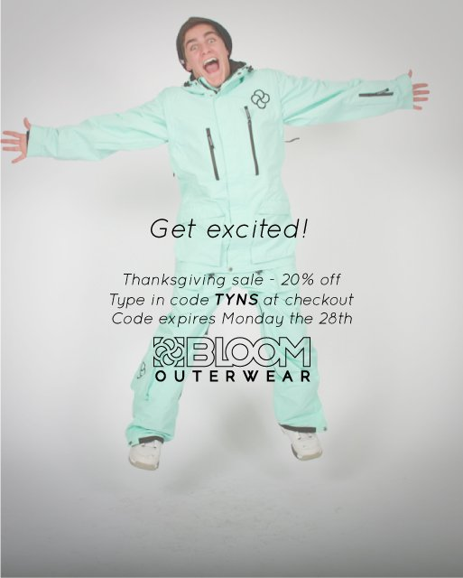 Bloom Outerwear TG Sale