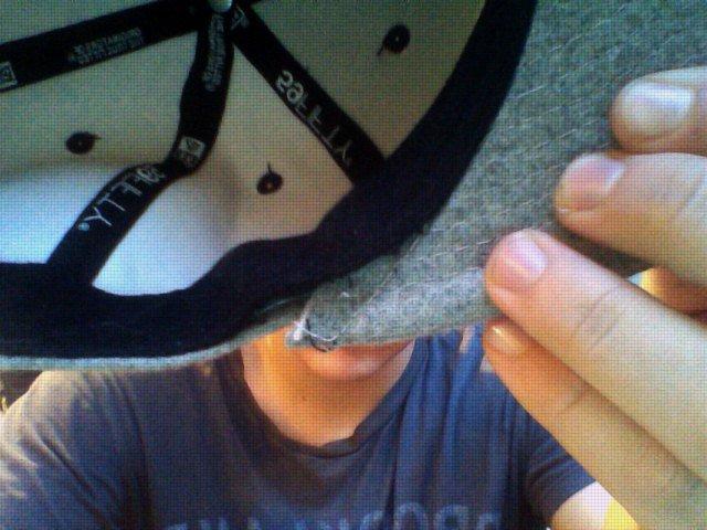 hat damage