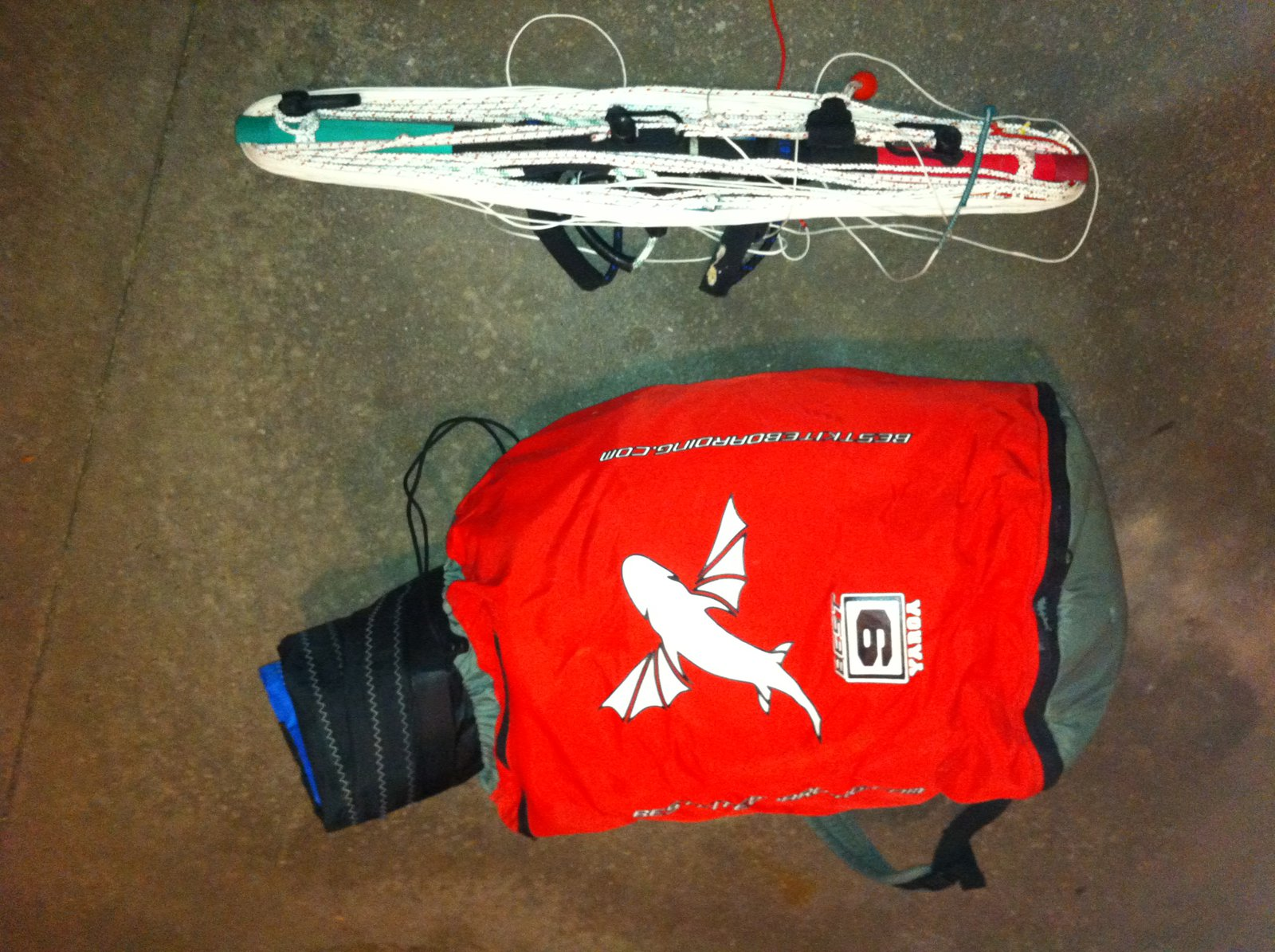 9m kiteboarding kite