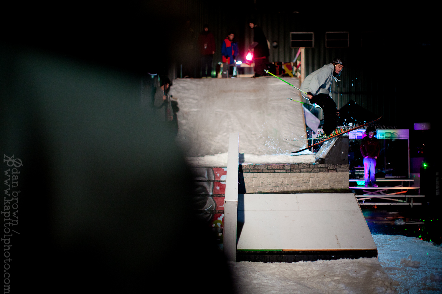 Snowriders Who's On First Rail Jam