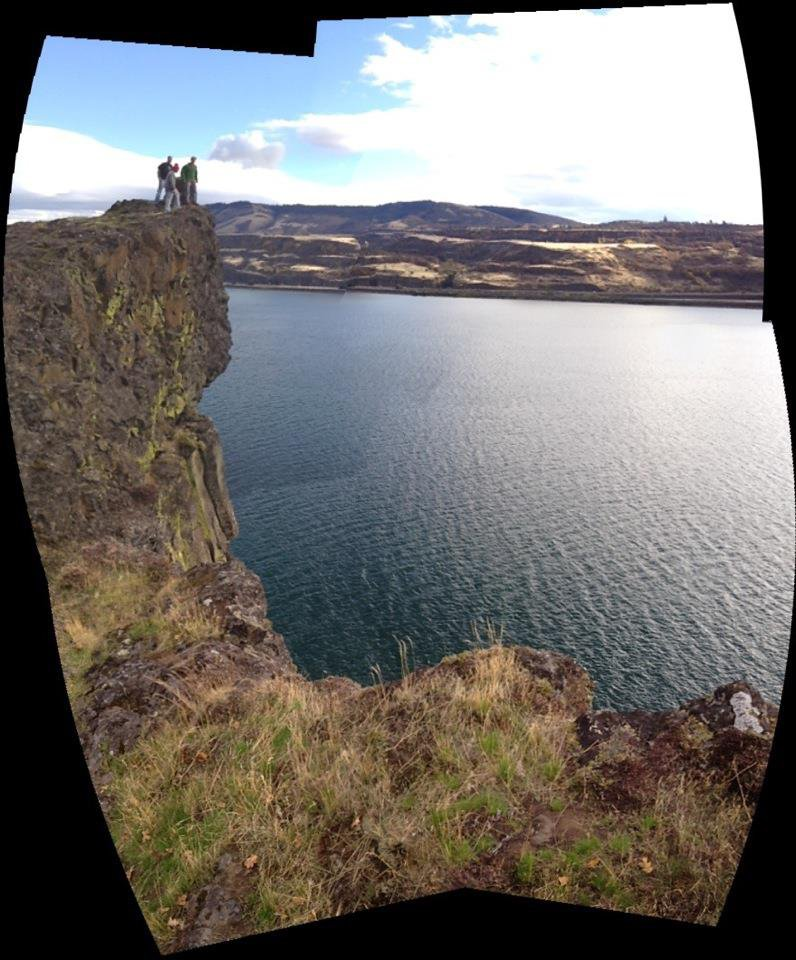 155 foot cliff jump