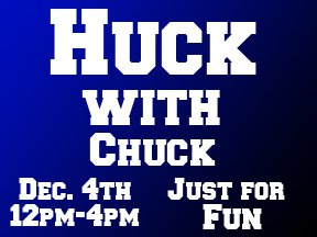 HUCK WITH CHUCK PRESEASON RAIL JAM