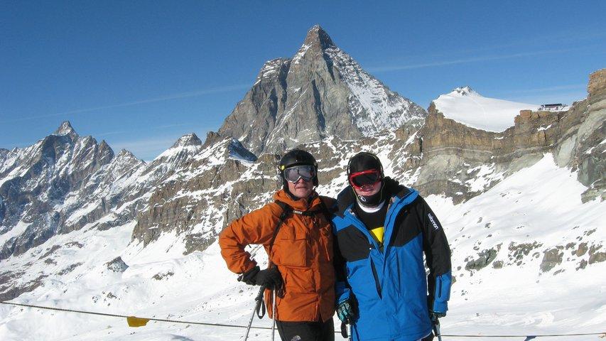 best dad ever at Zermatt