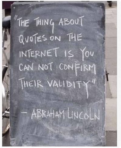 Good ol' Abe