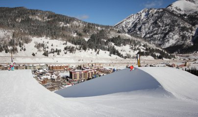 Copper Opens First 22' Superpipe In Colorado