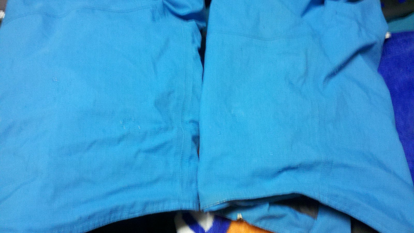 inside pants