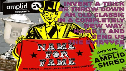 Amplid's Name For Fame Trick Contest