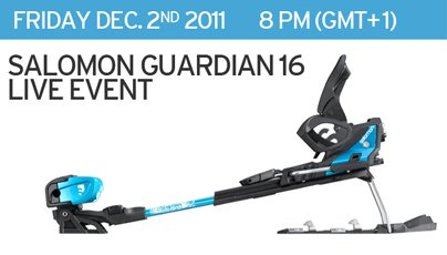 Salomon Guardian Live Chat